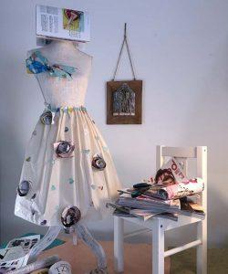 Recycled Paper Jewelry - Lokta Art - Handmade Paper Art