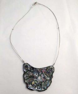 Anima Paper Necklace - Handmade Paper Jewelry - Lokta Art