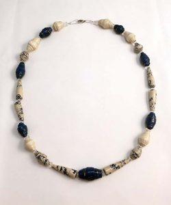 Blue - Lokta Paper Jewelry - Lokta Art