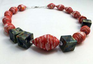 Daisies - Lokta Paper Jewelry - Lokta Art