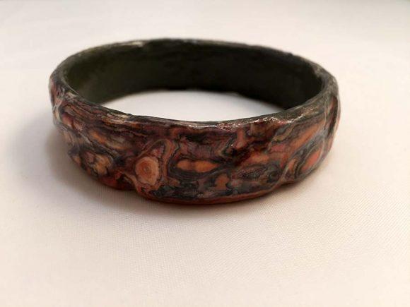 Luna Paper Bracelet - Handmade Paper Jewelry - Lokta Art