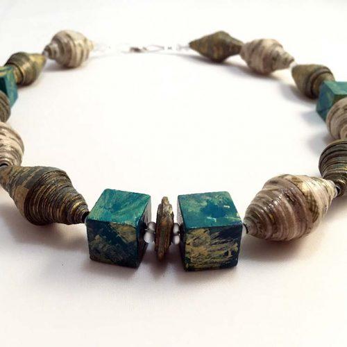 Oro - Lokta Paper Jewelry - Lokta Art